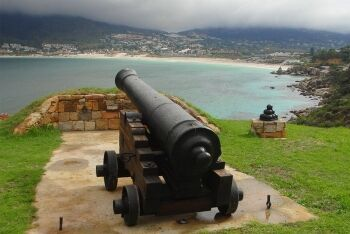 Cannon at East Fort, Hout Bay